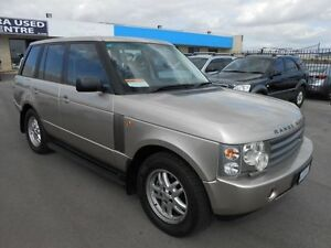 2002 Land Rover Range Rover HSE Gold 5 Speed Automatic Wagon Wangara Wanneroo Area Preview