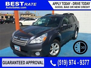 SUBARU OUTBACK 2.5i - APPROVED IN 30 MINUTES! - ANY CREDIT LOANS