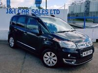 CITROEN C3 PICASSO 1.6 PICASSO EXCLUSIVE HDI 1d 110 BHP A GREAT EXAMP (black) 2009