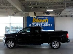 2015 GMC Sierra 1500 SLT WITH LEATHER AND NAVIGATION