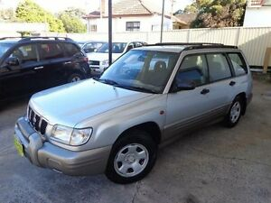 2001 Subaru Forester MY01 Limited Silver 4 Speed Automatic Wagon Sylvania Sutherland Area Preview