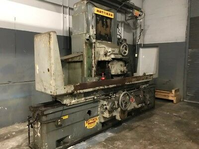 Mattison Surface Grinder 14 X 30 X 60
