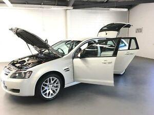 2008 Holden Commodore VE MY09.5 Omega 60th Anniversary White 4 Speed Automatic Sportswagon Frankston Frankston Area Preview