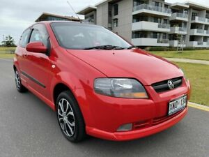 2007 Holden Barina TK MY07 Red 5 Speed Manual Hatchback Somerton Park Holdfast Bay Preview