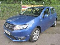 Dacia Sandero 0.9 TCe Laureate 5dr (blue) 2012