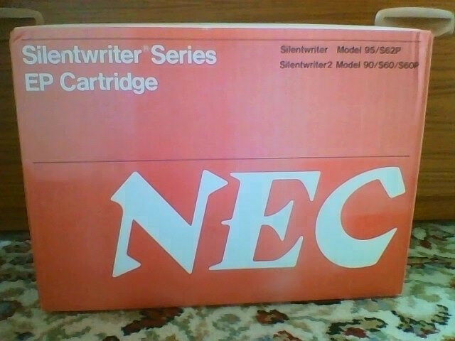 NEW NEC Silentwriter S60, S60P and S62P black