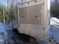 2010 Enclosed ATV/Sled Trailer Aluminum