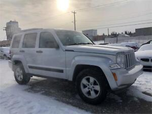 2011 Jeep Liberty Sport - 4X4/COMES WITH 3MTH WARRANTY INCLUDED