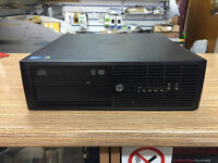 HP Compaq Pro 4300 SFF Core i3-3220 3.30GHz 4GB RAM 250GB HDD PC