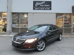 2011 VOLKSWAGEN PASSAT CC SPORTLINE *LEATHER,SUNROOF,LOW KMS!!!*