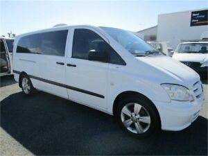 2011 Mercedes-Benz Vito MY11 113CDI LWB White 5 Speed Automatic Van Currumbin Waters Gold Coast South Preview