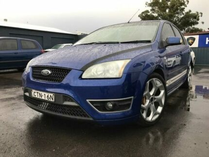 2006 Ford Focus LS XR5 Turbo Blue 6 Speed Manual Hatchback