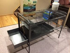 Large metal cage for small animals