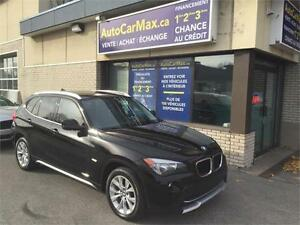 2012 BMW X1 XDRIVE AWD TOIT PANO-TWINTURBO-VÉHICULE COMME NEUF!