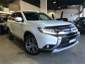 2016 Mitsubishi Outlander ZK MY16 LS White Constant Variable Wagon Caringbah Sutherland Area Preview