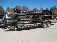 Demo 22' Tilt Equipment Trailer 15000 lb GVWR