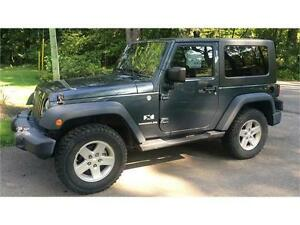 2008 JEEP WRANGLER 4X4  AUTOMATIC HARD&SOFT TOP