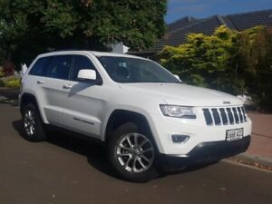 2013 Jeep Grand Cherokee WK MY2014 Laredo Bright White 8 Speed Sports Automatic Wagon St Marys Mitcham Area Preview
