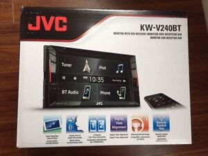 Brand new. JVC KW-V240BT car/truck  Double Din. Price is firm.