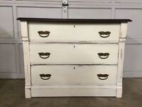 Beautifully Refinished Antique 3 Drawer Dresser ~L@@K~