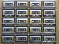 100s BLANKS COMING, HERE'S A FEW! 20x GOLD ISSUE TDK SA 90 T2 CASSETTE TAPES 1985-87 W/ CCLs & FP&P