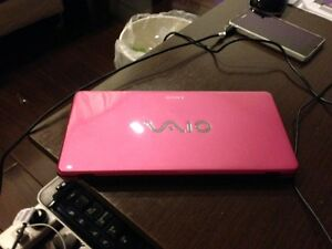 "Sony 8"" VGN-P45j (PINK) 8-Inch Laptop Notebook Netbook Computer"