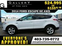 2014 Ford Escape SE AWD $159 Bi-Weekly APPLY NOW DRIVE NOW