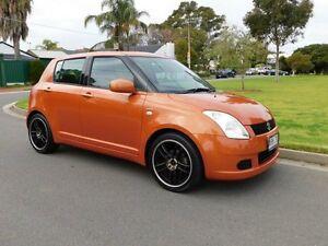 2005 Suzuki Swift RS415 Orange 5 Speed Manual Hatchback Somerton Park Holdfast Bay Preview