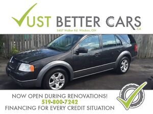 2007 Ford Freestyle SEL - You are approved don't worry!