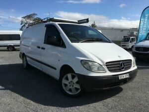 2005 Mercedes-Benz Vito 109CDI Extra Long White 6 Speed Manual Van Currumbin Waters Gold Coast South Preview