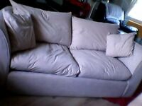 FREE DOUBLE SOFA BED BIEGE