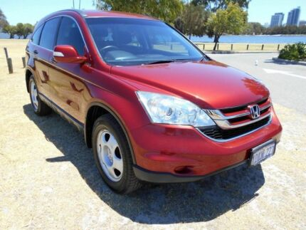 2010 Honda CR-V MY10 (4x4) Maroon 5 Speed Automatic Wagon St James Victoria Park Area Preview