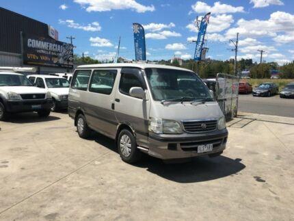 1999 Toyota Hiace LH113R 4 Speed Automatic Long Van