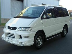2005 Mitsubishi Delica SPACEGEAR Low Roof 7st White 4 Speed Automatic Wagon Taren Point Sutherland Area Preview