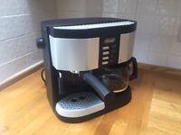For sale Delonghi filter, espresso and cappucino coffee maker