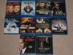 10 Blu Rays for $30, JCVD, Wallstreet, Tai Chi Master and more