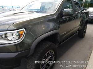 2018 Chevrolet Colorado 4WD ZR2 Diesel 4 Cylinder Engine 2.8L