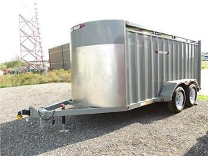 15 foot cattle trailer