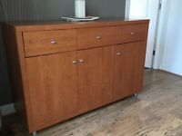 Sideboard, cherry colour