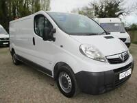 2014 Vauxhall Vivaro 2.0CDTi 115ps 2900 LWB NO VAT 40,000 MILES GUARANTEED