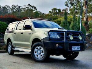 2009 Toyota Hilux KUN26R MY09 SR Silver 5 Speed Manual Utility Littlehampton Mount Barker Area Preview