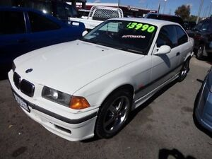 1997 BMW 318IS Auto White 4 Speed Auto Active Select Coupe Victoria Park Victoria Park Area Preview