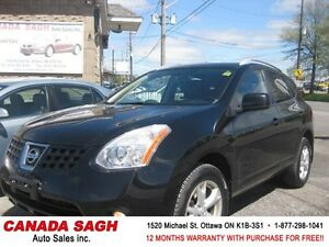 2008 Nissan Rogue AWD/ LTHR/ROOF 12.WRTY+SAFETY $5990