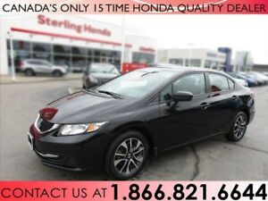 2015 Honda Civic EX | NO ACCIDENTS | 1 OWNER | SUNROOF