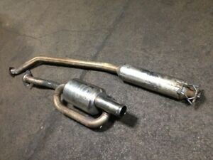 JDM HONDA ACURA RSX DC5 MUGEN TWIN-LOOP MUFFLER EXHAUST FOR SALE