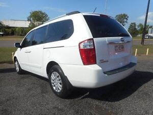 2011 Kia Grand Carnival VQ EXE White 5 Speed Sports Automatic Wagon Winnellie Darwin City Preview