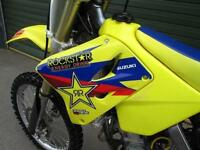 SUZUKI RM 125 K7 2007 MOTOCROSS MX BIKE
