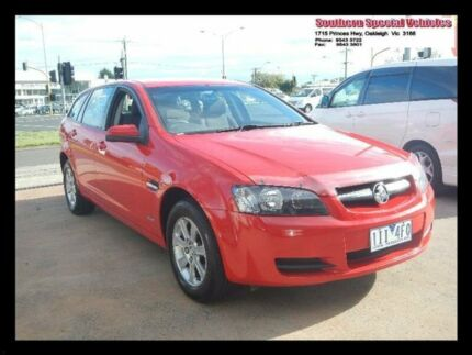 2010 Holden Commodore Red Automatic Wagon