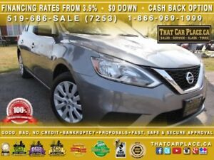 2016 Nissan Sentra S-$53/Wk-Bluetooth-Cruise Control-Power Windo