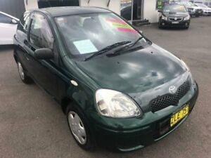 2004 Toyota Echo NCP10R MY03 Green Automatic Hatchback Lansvale Liverpool Area Preview